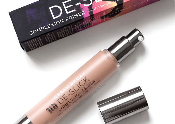 Urban Decay De-Slick Complexion Primer Review Best Oily Skin