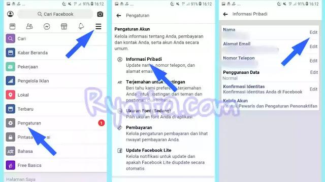 2 Cara Buat Nama FB Panjang dan Unik, Keren Tanpa Banding