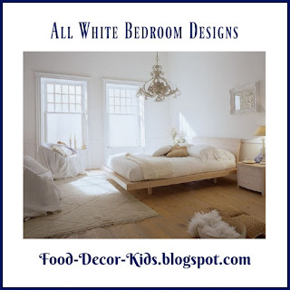 All White Bedroom Designs