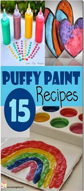 puffy paint recipes