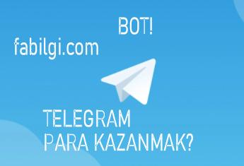Telegram Para Kazandıran Bot Uygulama İndir Kazan Ödemeli
