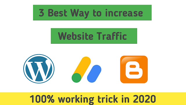 how to increase traffic to your website || how to get traffic to your website
