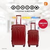 Dusdusan Bonobo Luggage Burgundy (Set of 2) ANDHIMIND