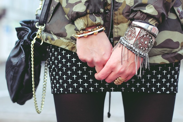 A Collection of Biker Bracelets for Men shop new