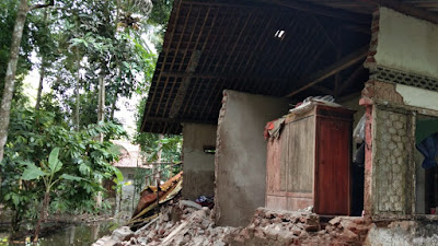 Intensitas Hujan Pituruh Cukup Tinggi, Beberapa Wilayah Alami Longsor dan Banjir
