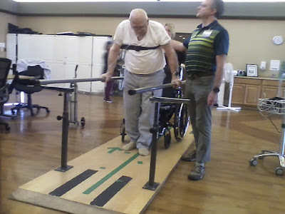 Dad's Physical Therapy