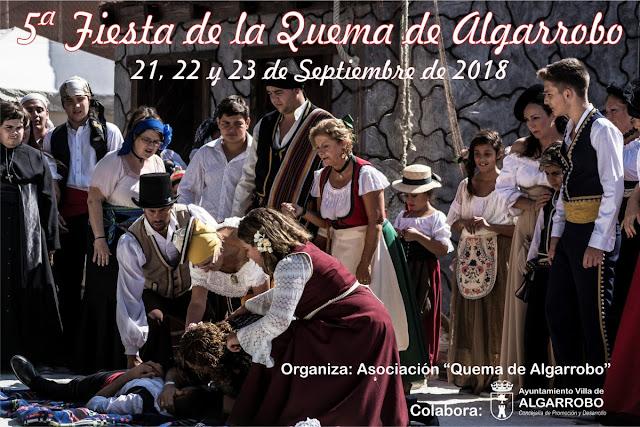 Fiesta de la Quema de Algarrobo 2018