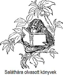 Saláthára olvasott könyvek