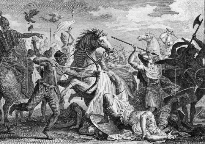 The death of Marcus Licinius Crassus