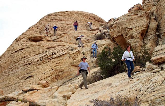 Passeios a pé e guiados no Red Rock Canyon