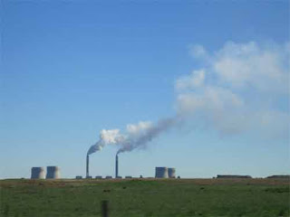 Power Plant Smoke South Africa