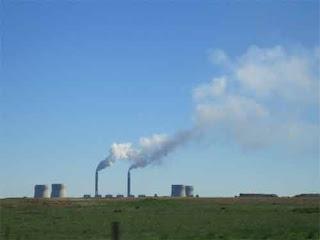 Power Plant Smoke South Africa