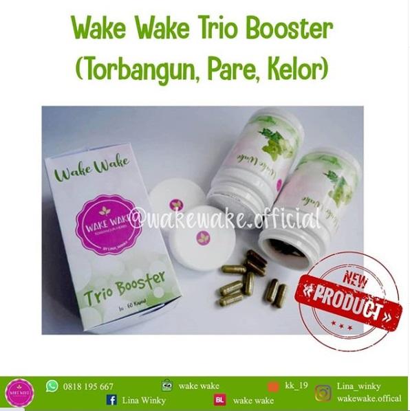 Keajaiban Wake Wake Trio Booster Untuk ASI Berkualitas