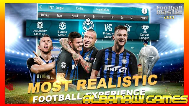 تحميل لعبة Football Master 2019 للأندرويد من الميديا فاير