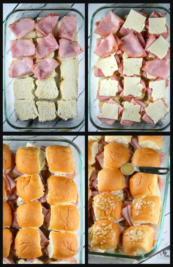 BAKED HAM AND CHEESE SLIDERS #recipes #dinnerideas #foodideas #foodideasfordinnereasy #food #foodporn #healthy #yummy #instafood #foodie #delicious #dinner #breakfast #dessert #lunch #vegan #cake #eatclean #homemade #diet #healthyfood #cleaneating #foodstagram