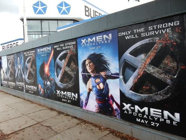 X-Men Apocalypse street posters