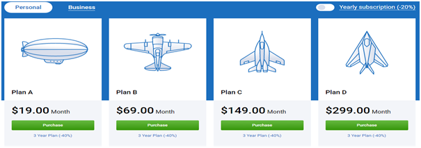 Serpstat pricing: Personal use plans