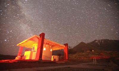 Mamalluca tourist observatory, Chile.
