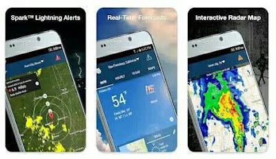 Aplikasi Ramalan Cuaca - Weather by WeatherBug