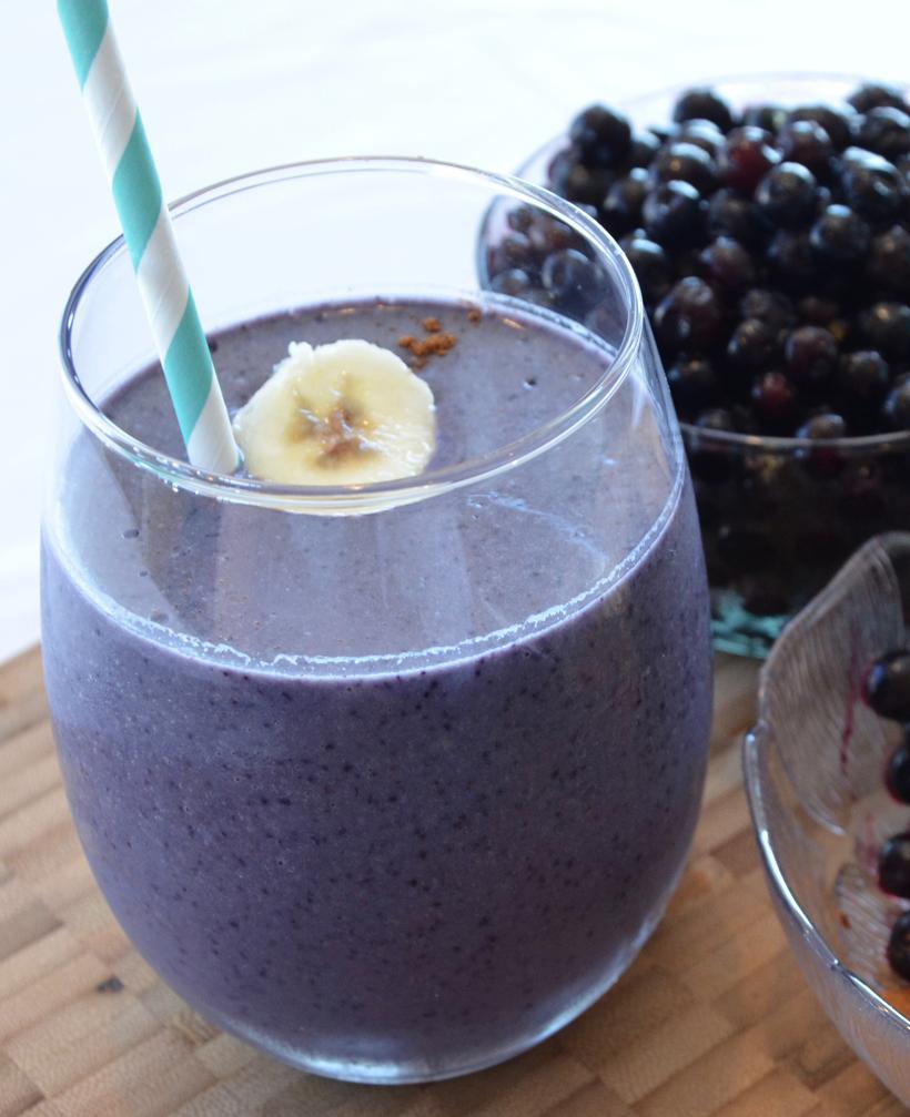 Wild Blueberry Protein Shake