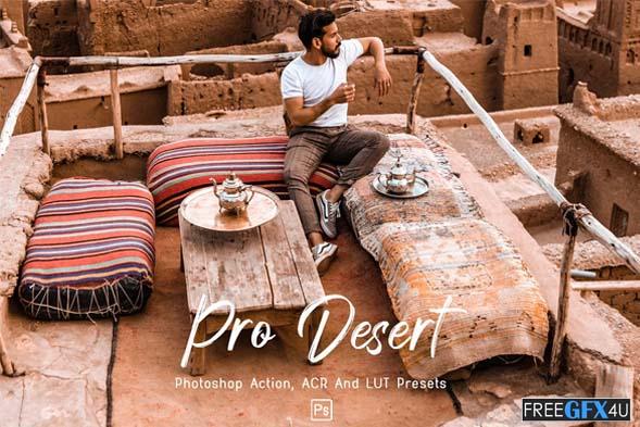 10 Pro Desert Photoshop Actions, ACR, LUTs