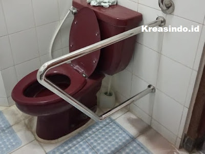 Harga Handrail Kloset Stainless dan Handrail Stainless Kamar Mandi Terbaru