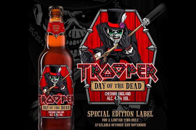 """Day Of The Dead: Iron Maiden anuncia cerveja em homenagem ao """"Dia de Los Muertos"""""""