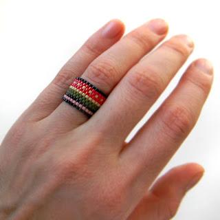купить украшения из бисера купить кольцо ручной работы этника россия