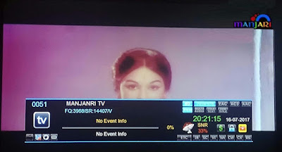Manjari TV added on GSAT 10 Satellite in C-Band
