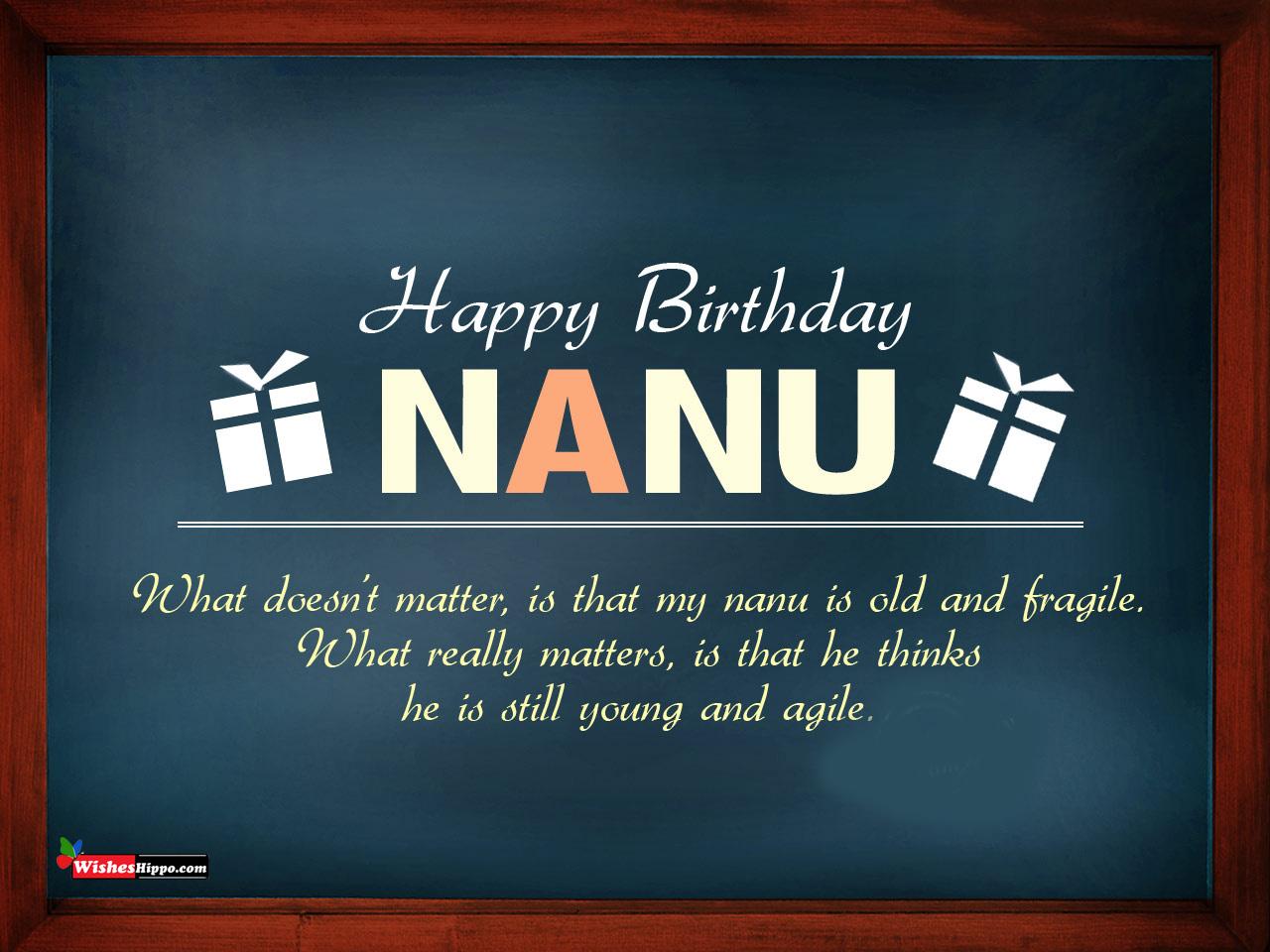99 Birthday Wishes For Nana Ji In Hindi And English Birthday Image Picture 2021 Wisheshippo