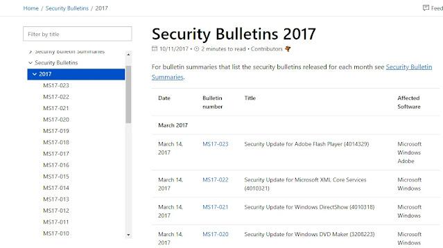 Microsoft security response center