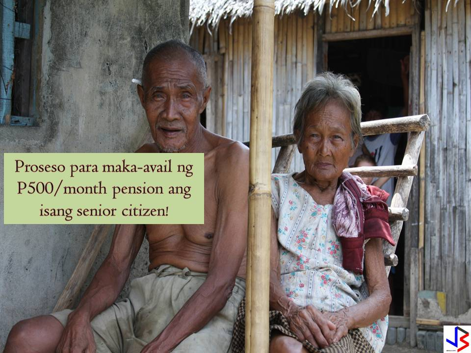 "DSWD's Acceptance of Applications of Social Pension for Senior Citizens.   ""Pursuant to the eligibility criteria as may be determined by the DSWD, indigent senior citizens shall be entitled to a monthly stipend amounting to Five hundred pesos (Php 500.00) to augment the daily subsistence and other medical needs of senior citizens. The grant of social pension shall be subject to a review every two (2) years by Congress, in consultation with the DSWD within three months after convening the Congress.""  Good news for our needy senior citizens. All those who are 60 years old and above may now avail of Social Pension Program of the Department of Social Welfare and Development (DSWD). advertisement  According to a regional information officer of DSWD this is how to file SENIOR CITIZEN's application. You may bring the following requirements at the City Social Welfare and Development Office (CSWDO) or at the Office of the Senior Citizens Affairs (OSCA).  REQUIREMENTS  1. Senior Citizen idenfication card (ID) 2. Certificate of Indigency (Kindly prepare Barangay Certificate of Residency and Assessment Report from the CSWDO Field Offices. As such, CSWDO will be issuing this certificate as well.)  Upon submission of the requirements, the applicants will be evaluated by the social workers. Afterwards, it will be recommended to the DSWD regional office for final validation.  Once qualified on the other hand, applicants are not expected to receive their social pension amounting to PhP 1,500 per quarter or P500 monthly. They will be placed in the pensioner's wait-list."