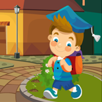 Games4King Kindergarten Boy Rescue Walkthrough