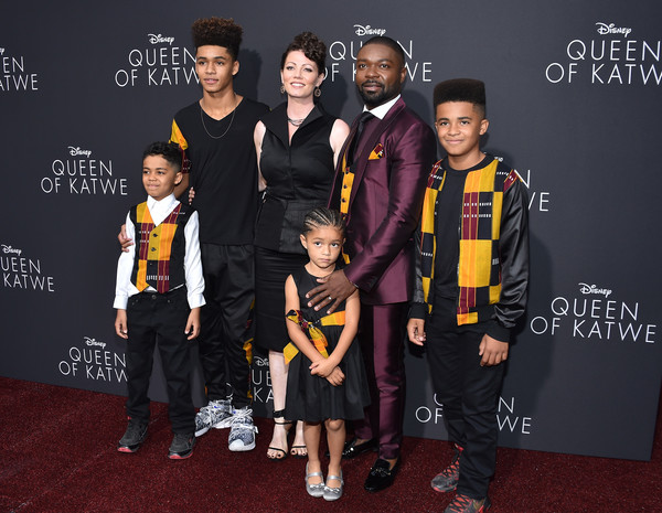 Image result for david oyelowo and family at movie premiere