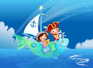 contoh gambar imajinasi anak anak www.simplenews.me