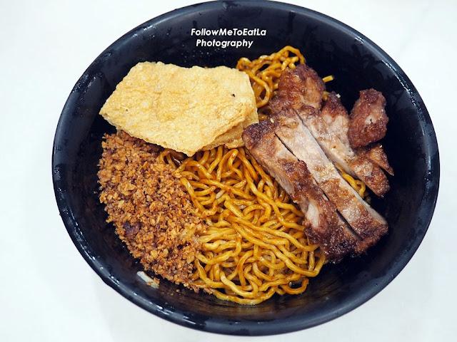 Pork Chop Pan Mee (Dry Noodle) RM 7.80