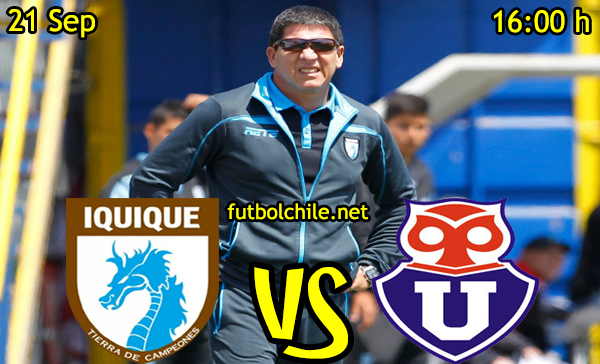 Ver stream hd youtube facebook movil android ios iphone table ipad windows mac linux resultado en vivo, online: Deportes Iquique vs Universidad de Chile,