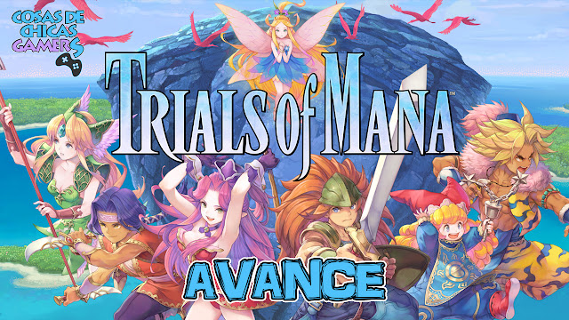 Avance Trials of Mana para PS4