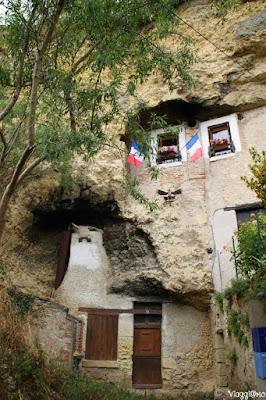 Alcune abitazioni troglodite di Amboise sono tutt'ora abitate