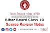 Bihar Board Class 10 Science Revision Notes [PDF] | Matric Exam 2021