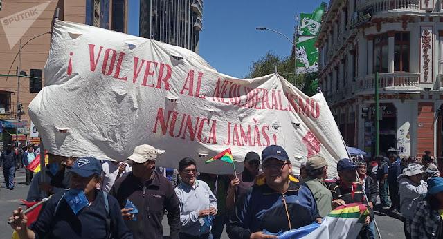 Mov Gayones: Solidaridad con el pueblo de Bolivia ante el golpe de Estado encabezado por los sectores de extrema derecha