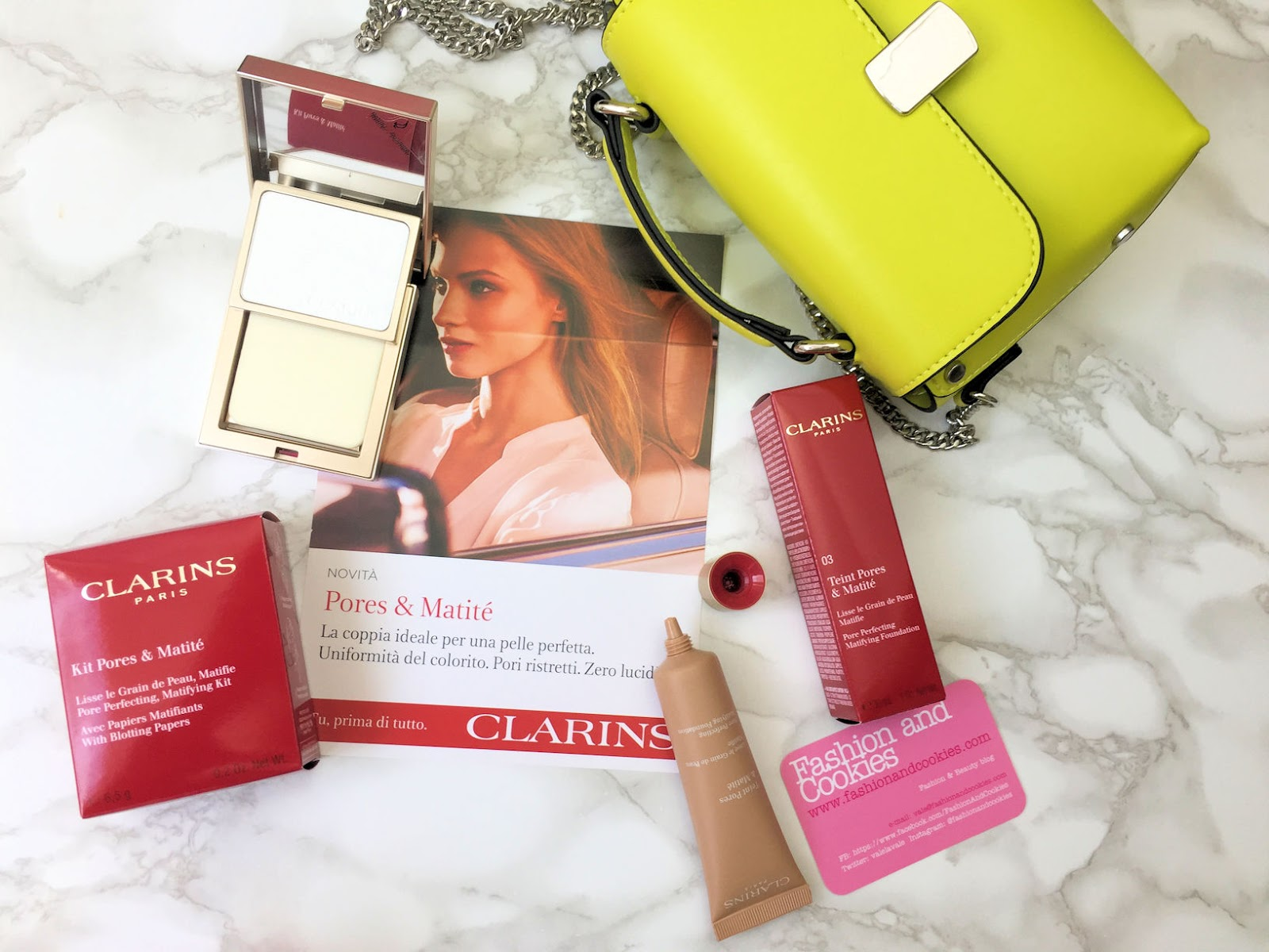 Clarins Duo Effetto Mat Pores & Matité su Fashion and Cookies beauty blog, beauty blogger