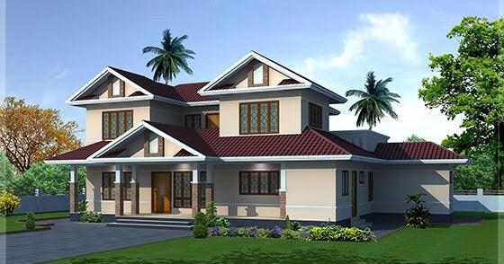 2400 Sq Feet Villa Exterior And Floor Plan Kerala Home
