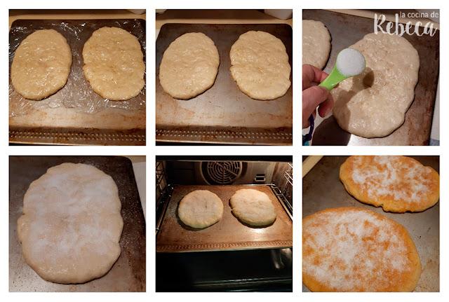 Receta de tortas de manteca: horneado de las tortas