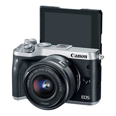 Canon EOS M6 DSLR Firmware Full Driversをダウンロード
