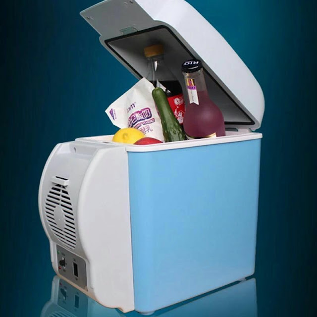 ثلاجة سيارة بارد و ساخن 7.5 لتر (Car refrigerator cold and hot 7.5 liters)