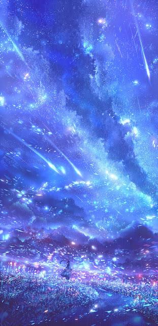 Vivid night sky