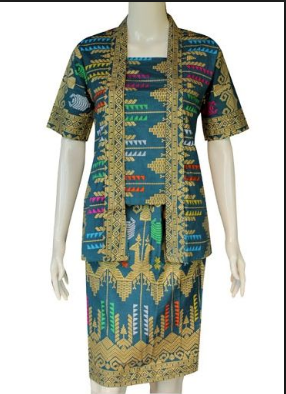 40 Model Baju Batik Atasan Dan Bawahan Wanita Terbaru