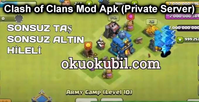 Clash of Clans 13.576.7  Sonsuz Taş + Altın Özel Sunucu-Mod Apk İndir 2020