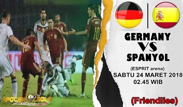 Prediksi Jerman vs Spanyol 24 Maret 2018
